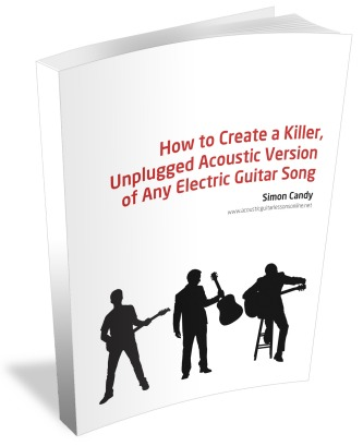 Acoustic Guitar 3D Ebook Cover