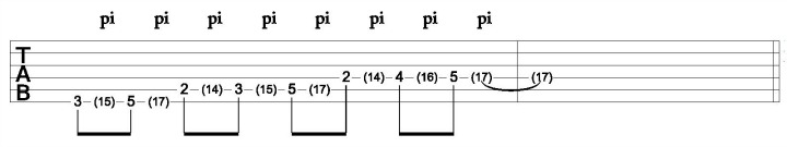 Major Scale Using Harmonics Image