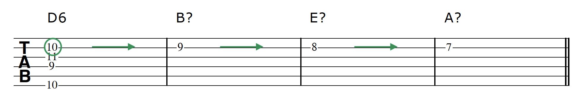 Advanced Guitar Chords Progression 2 Chord 1