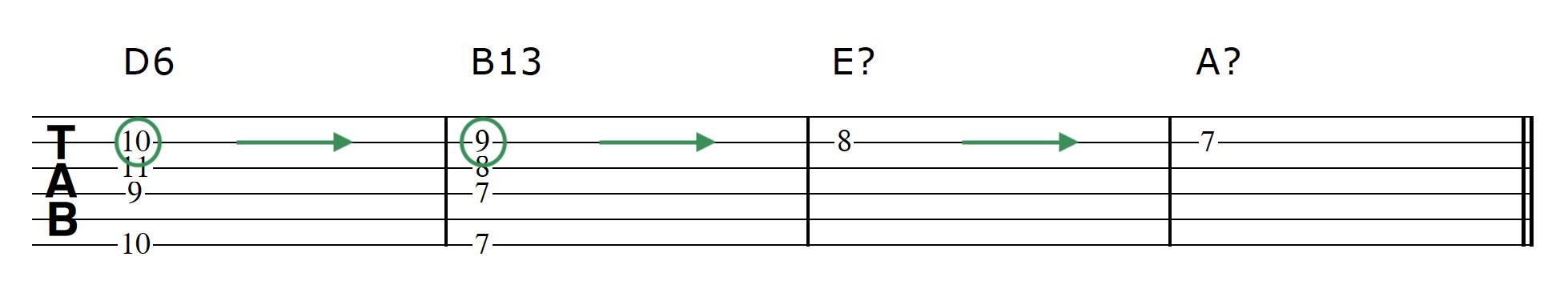 Advanced Guitar Chords Progression 2 Chord 2