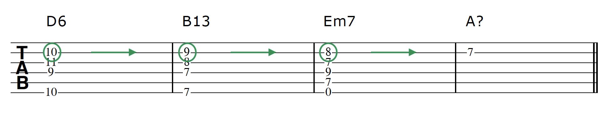 Advanced Guitar Chords Progression 2 Chord 3