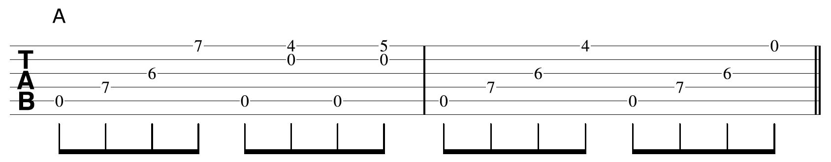 Creative Guitar Chord Example 2