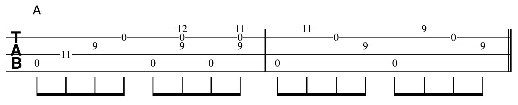 Creative Guitar Chord Example 3