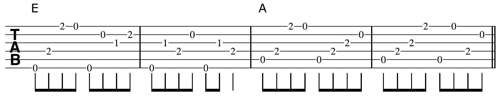 Creative Guitar Chord Vamp 1