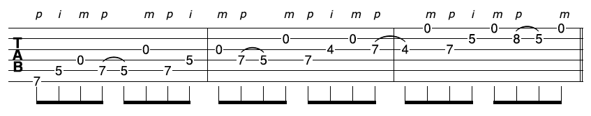 Fast Guitar Sequence 2-1