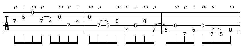 Fast Guitar Sequence 2-2
