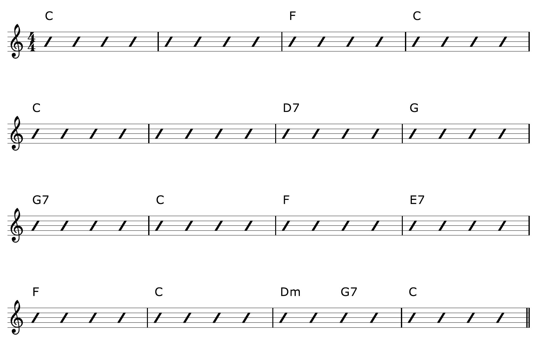 Fingerpicking Guitar Arrangement Chords