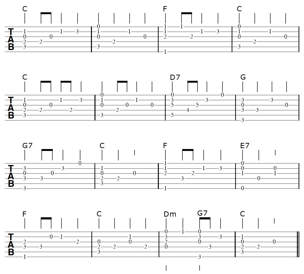 Fingerstyle Guitar Arrangement Arpeggiation