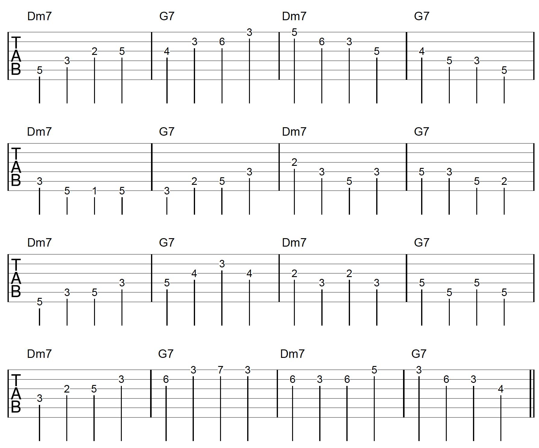 Guitar Arpeggio Solo Connection Exercise