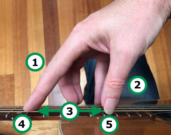 Harp Harmonic Picking Hand Technique