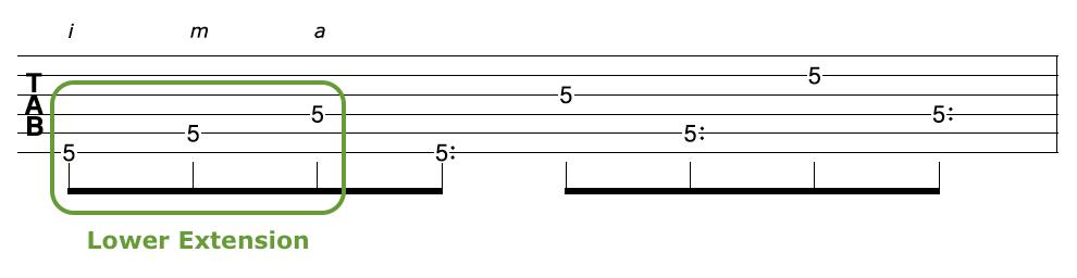 Harp Harmonic Arpeggio Lower Extension