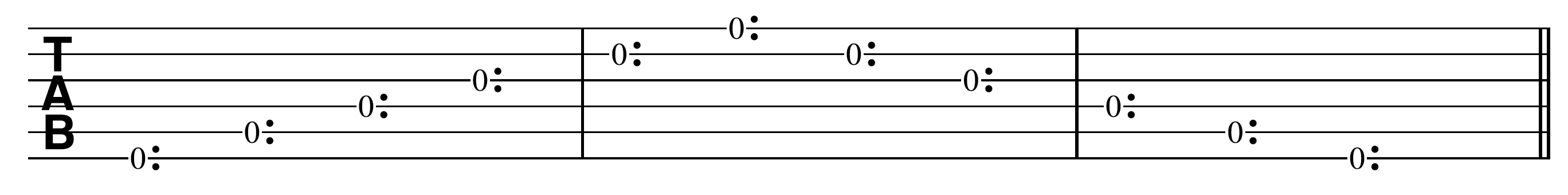 Harp Harmonic Open String Harmonics