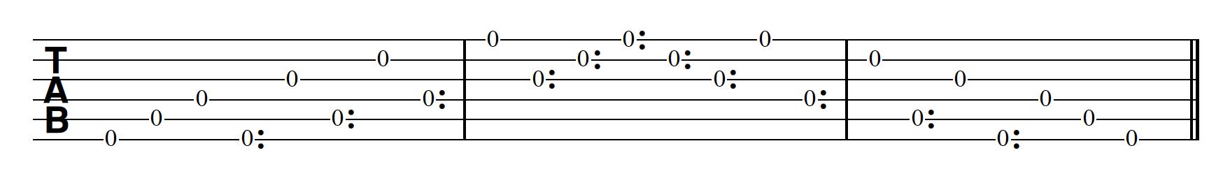 Harp Harmonic Pattern Extended Arpeggio