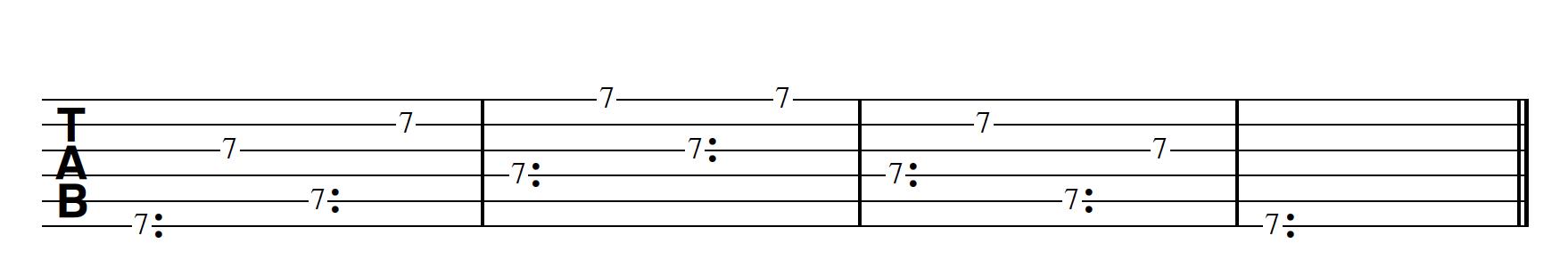 Harp Harmonic Pattern Harmonic First Bm7/11