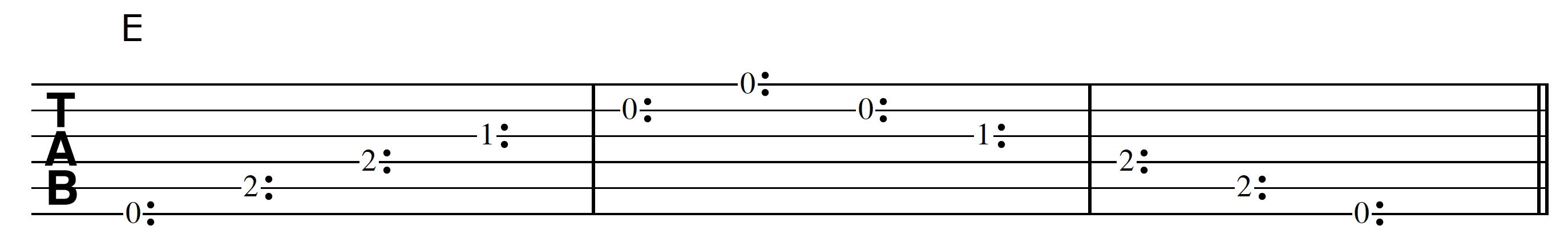Harp Harmonic Tracking E Chord