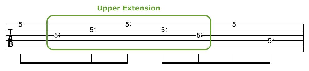 Harp Harmonic Arpeggio Upper Extension