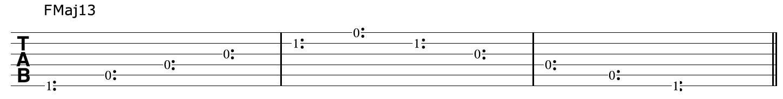 FMaj13-Harmonics