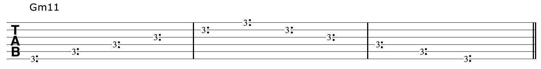 Gm11-Harmonics