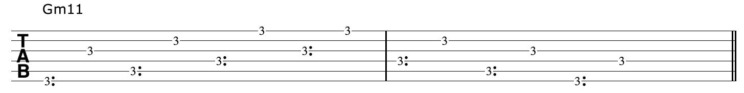 Gm11 Harp Harmonics