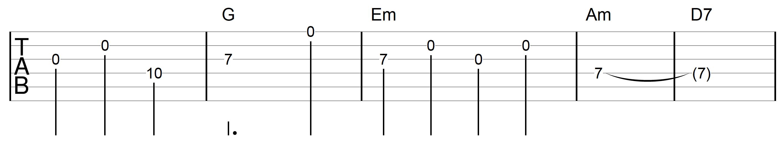 Open String Melody Danny Boy Open 2