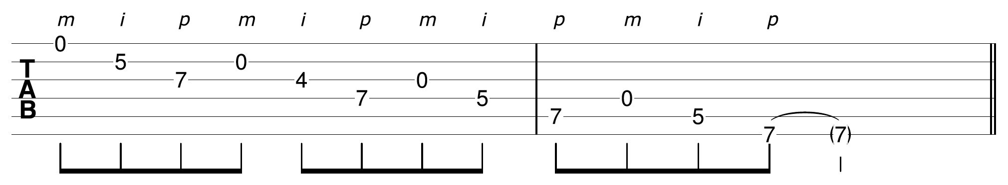 Open String Scale Descending