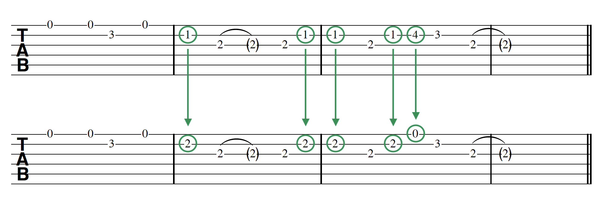 Parallel Key Modulation Melody Converted  2