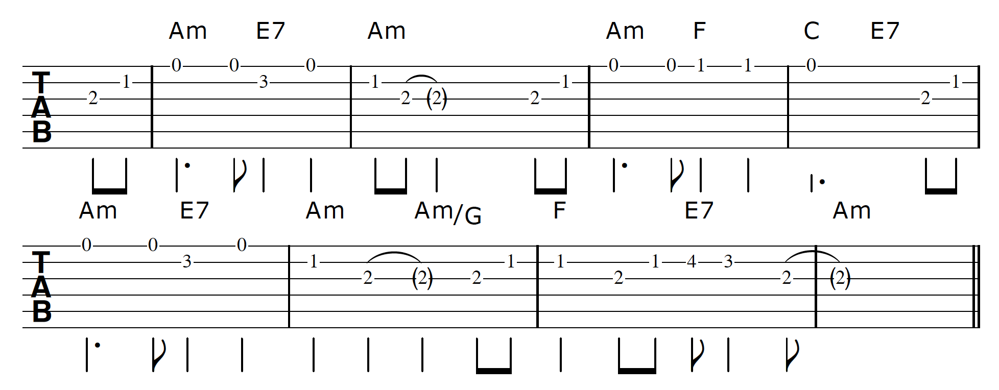 Parallel Key Modulation St James Infirmary Tune