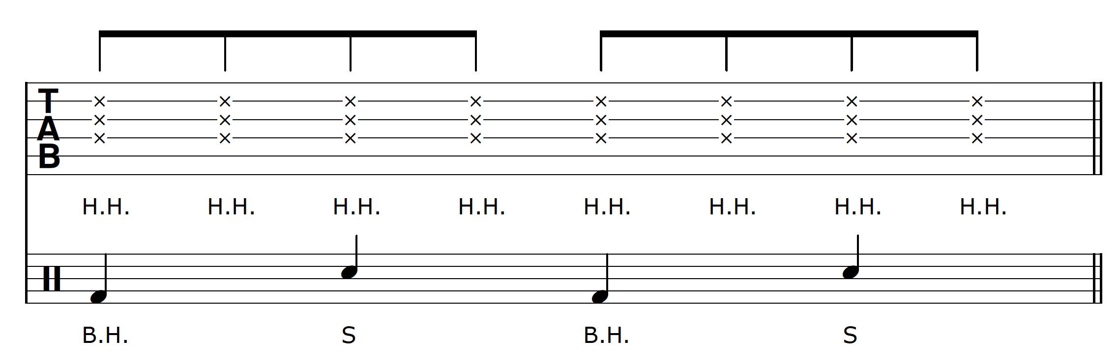 Percussive Guitar Groove 2