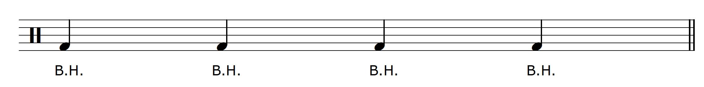 Percussive Guitar Technique Kick Drum