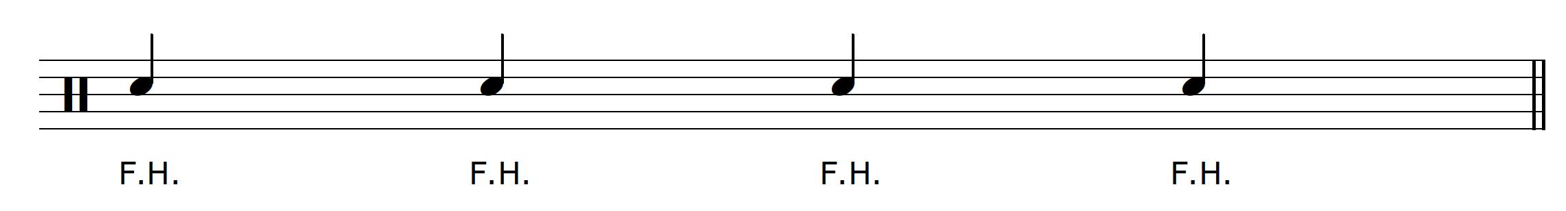 Percussive Guitar Technique Fret Hand