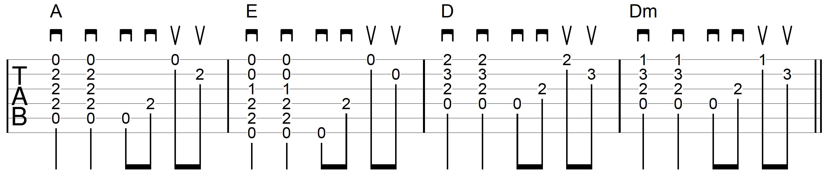 Strum-Chord-Pick-Guitar-Example-4