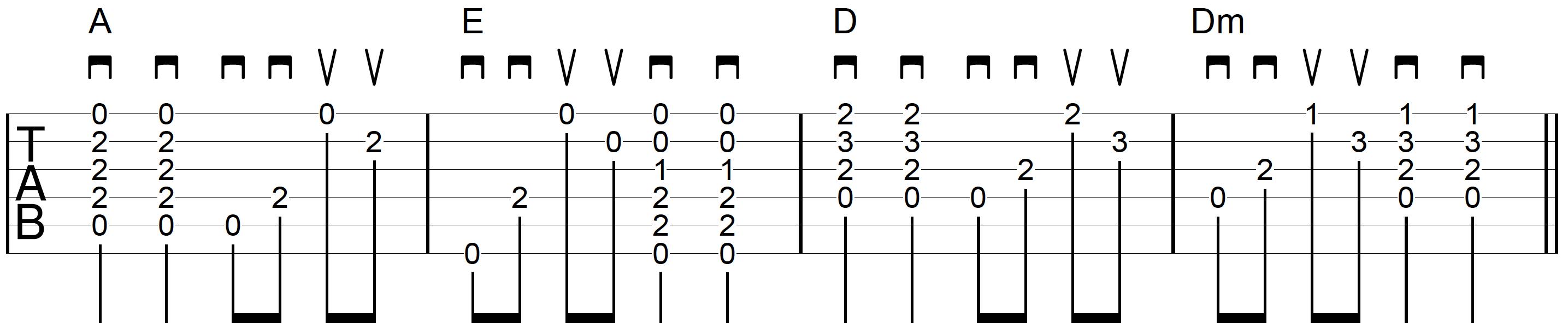 Strum-Chord-Pick-Guitar-Example-6