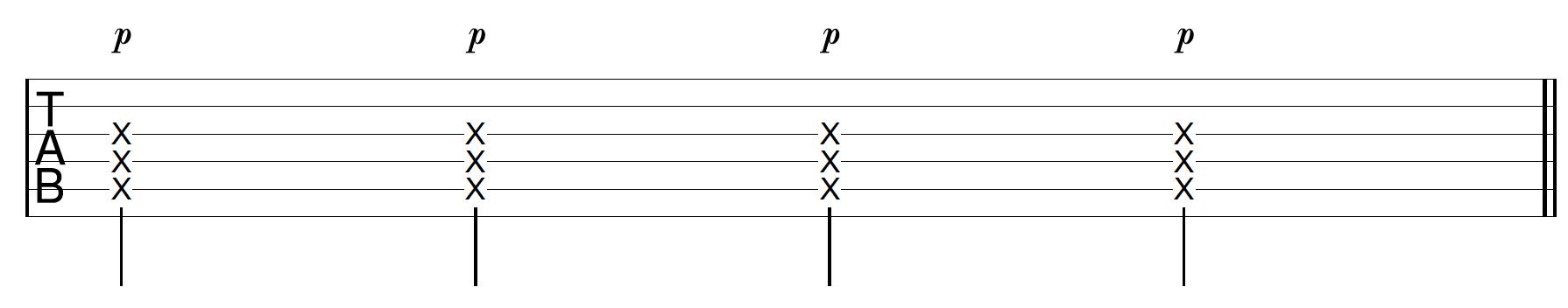 Thumb Slap Guitar Technique