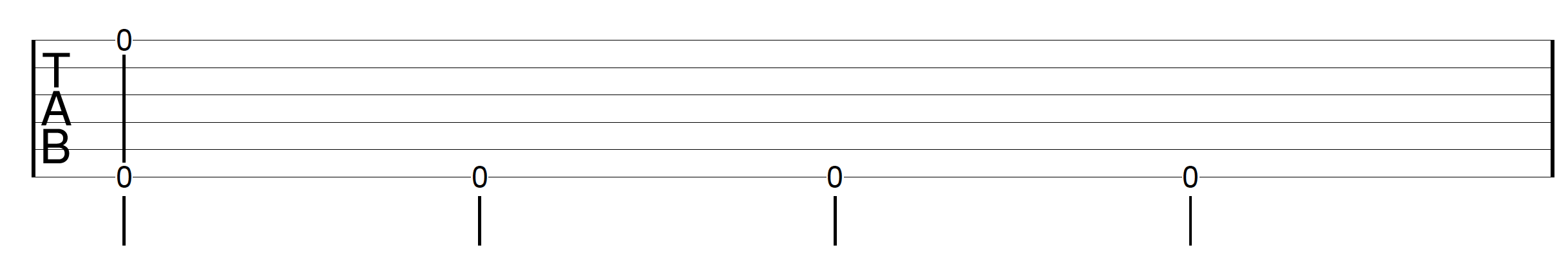 Travis Picking Pattern Guitar Drill 1