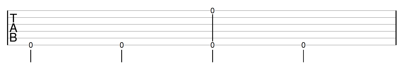 Travis Picking Pattern Guitar Drill 3