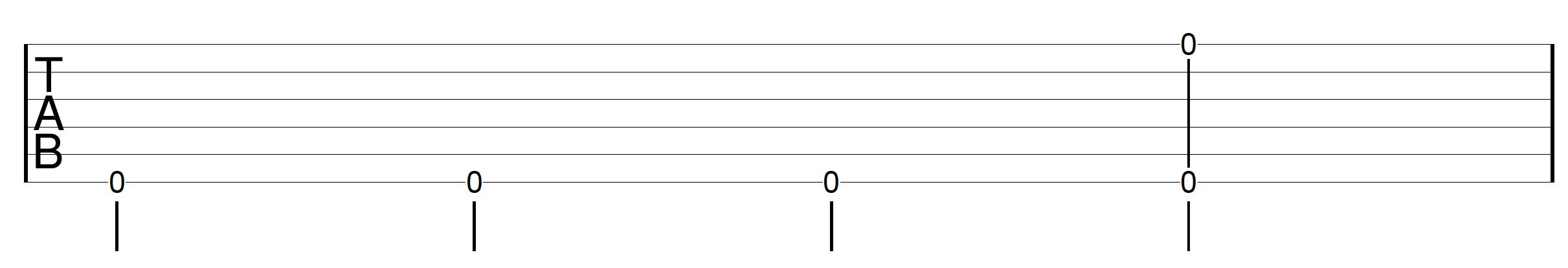 Travis Picking Pattern Guitar Drill 4
