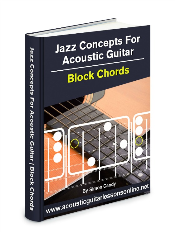 How To Play Jazz Chord Shapes On Acoustic Guitar