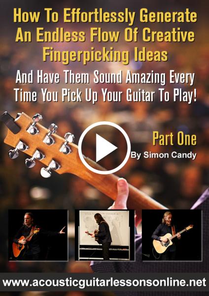 Creative Fingerpicking Guitar Masterclass Video 1
