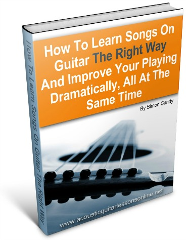Learning Songs Ebook 3D Image