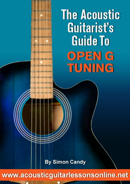Open G Tuning For Guitar Pic