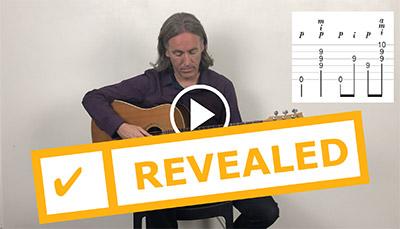 Fingerpicking Guitar Video Screenshot 4