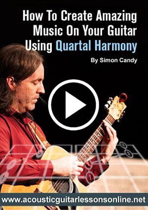Acoustic Fingerpicking Quartal Harmony