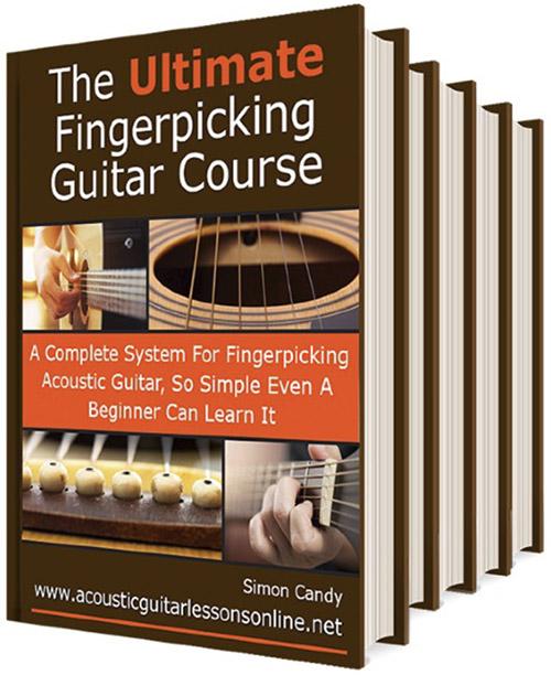 Fingerpicking Acoustic Guitar Book Image