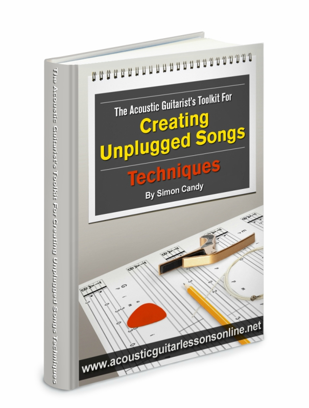 Unplugged Acoustic Guitar Toolkit Techniques Book Image