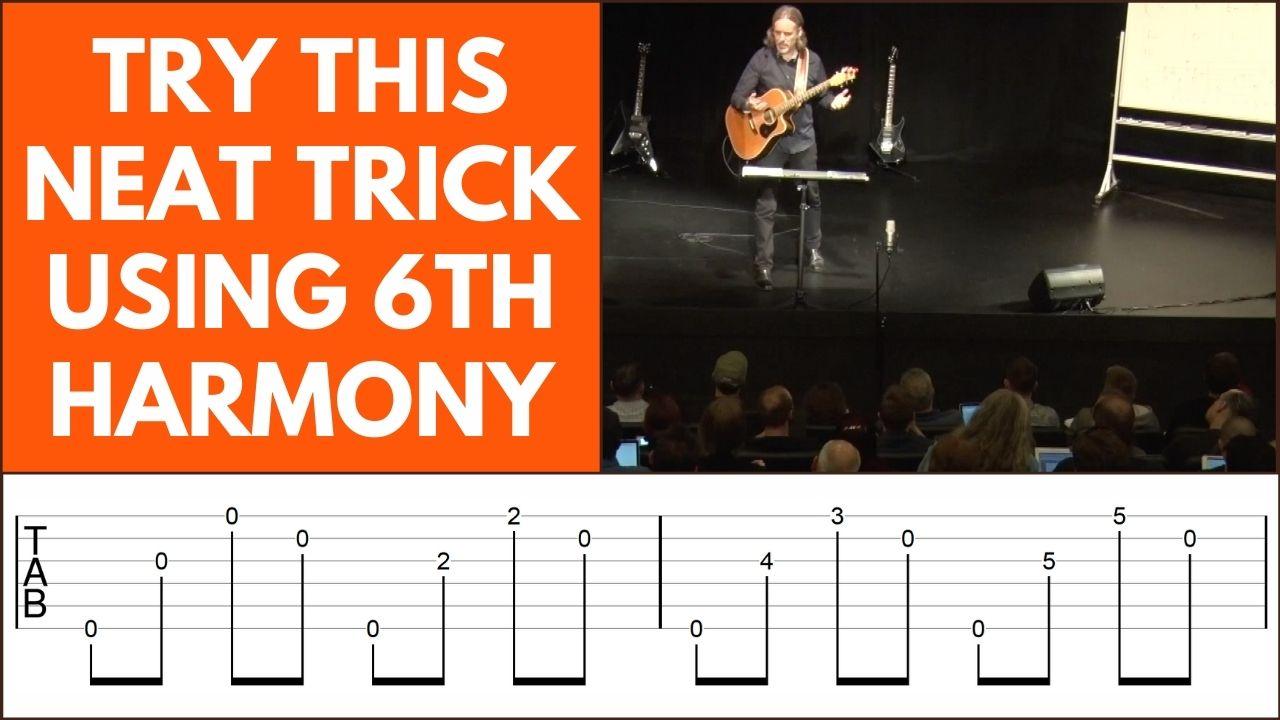 6th Harmony Fingerpicking Guitar