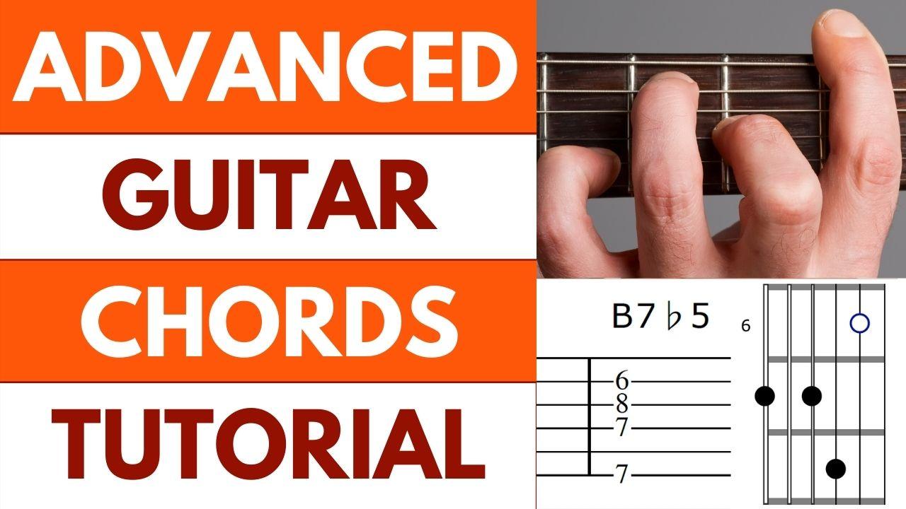 Advanced Guitar Chords Tutorial Image