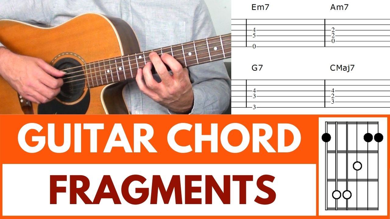 Guitar Chord Fragments Image