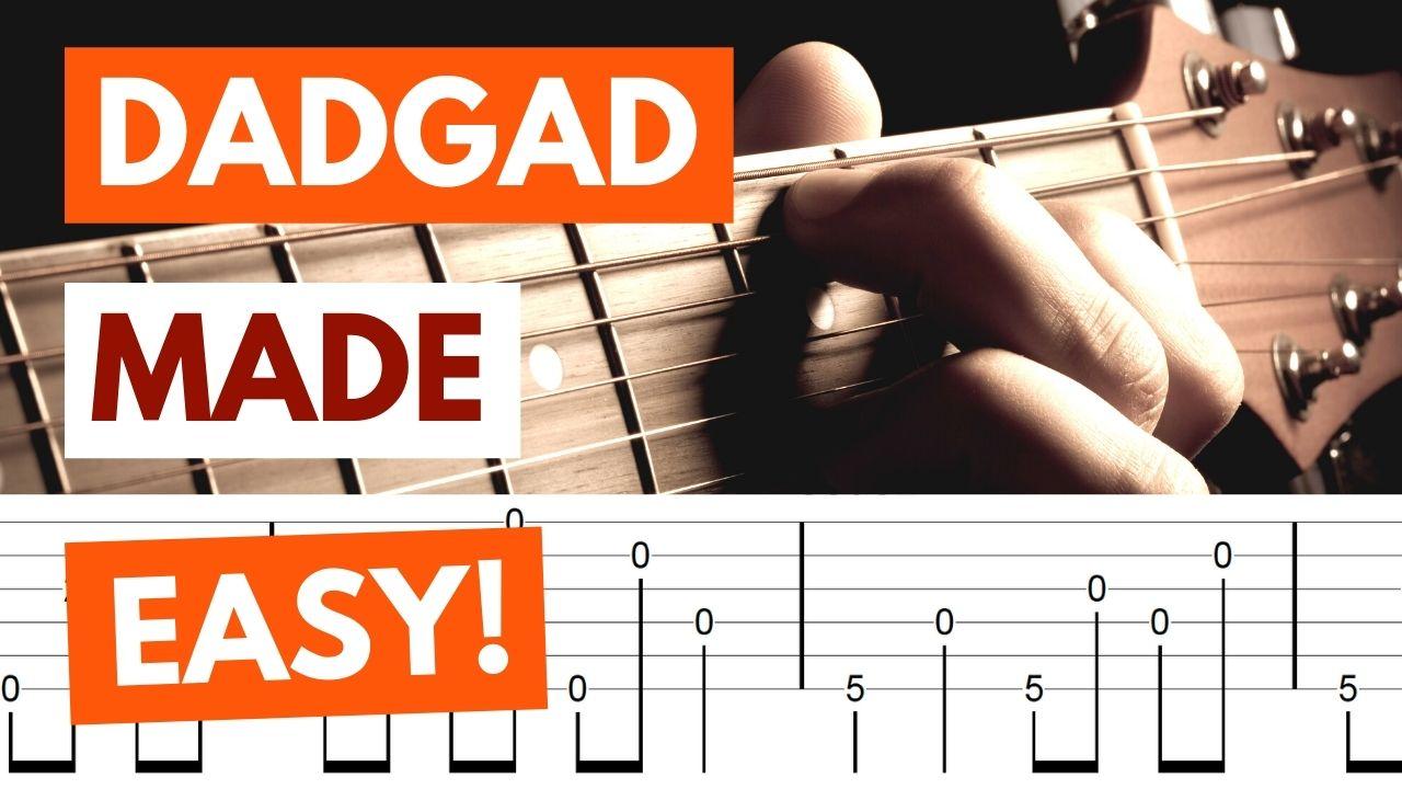 DADGAD Tuning Guitar Pic