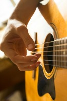 Acoustic Guitar Fingerpicking Pic