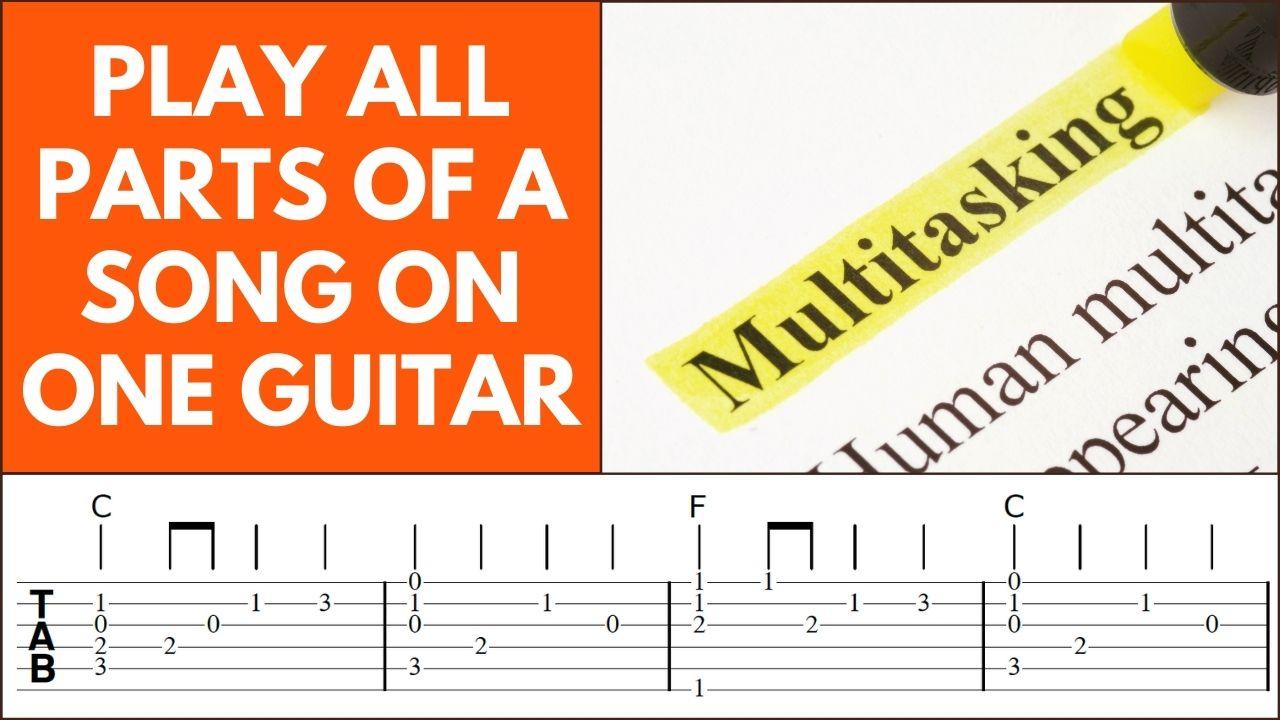 Fingerstyle Guitar Arrangement Video Page Pic